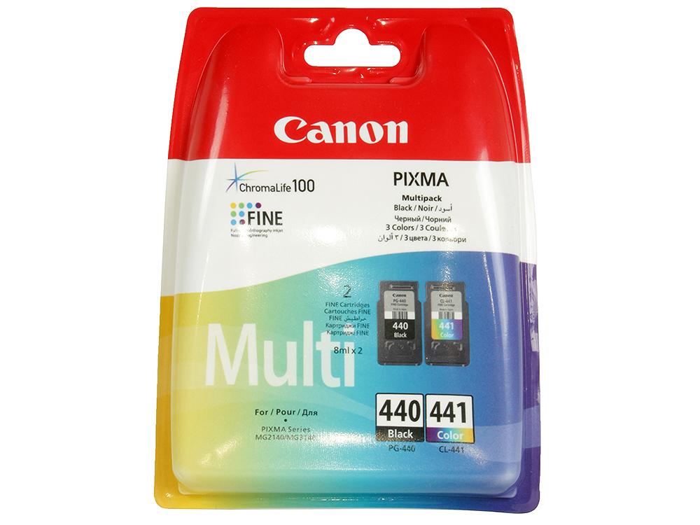 цена на Комплект картриджей Canon PG-440/CL-441 для PIXMA MG2140, MG3140.