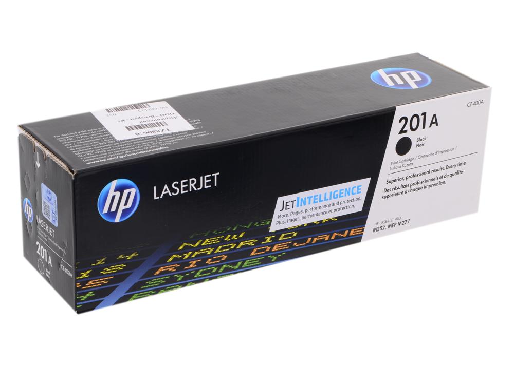 Картридж HP CF400A для LaserJet Pro M252n/M252dw, Черный. 1500 страниц. (HP 201A) цена
