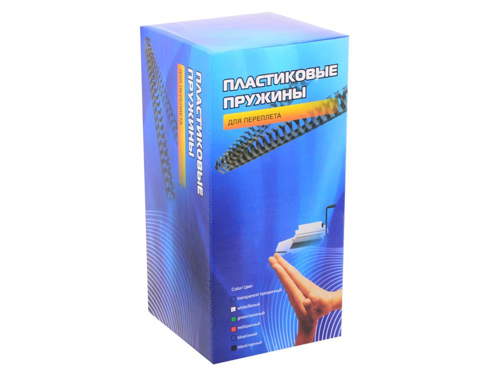 Пластиковые пружины 25 мм (190-220 листов) белые 50 шт. Office Kit (BP2081) цена в Москве и Питере
