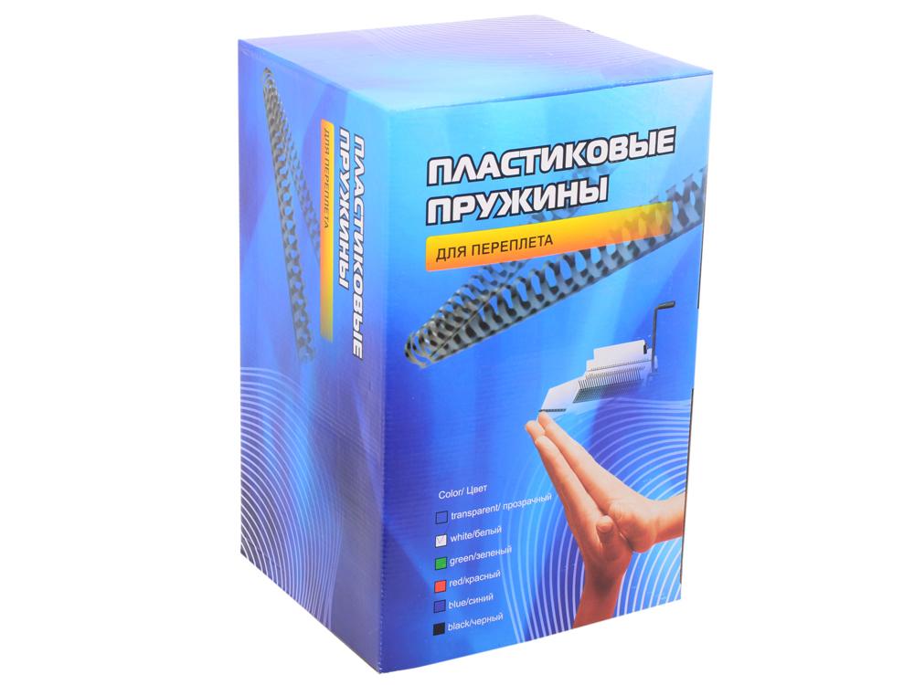 Пластиковые пружины 51 мм (410-480 листов) белые 50 шт. Office Kit (BP2131) цена в Москве и Питере