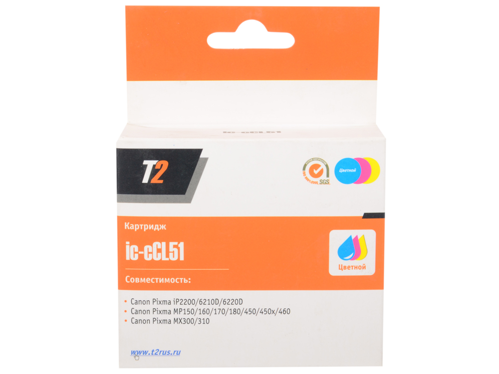 Картридж T2 IC-CCL51 картридж t2 cb324he 178xl ic h324