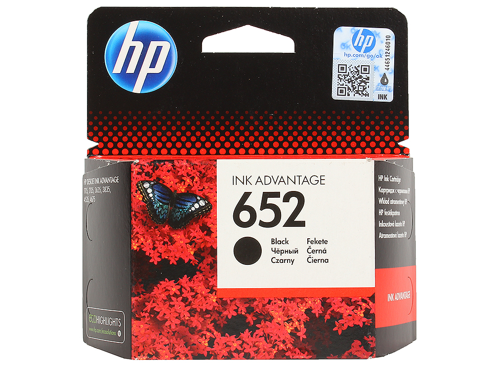 Картридж HP F6V25AE BHK черный (black) 360 стр для HP DeskJet Ink Advantage 2135/3635/3835/1115 цена 2017