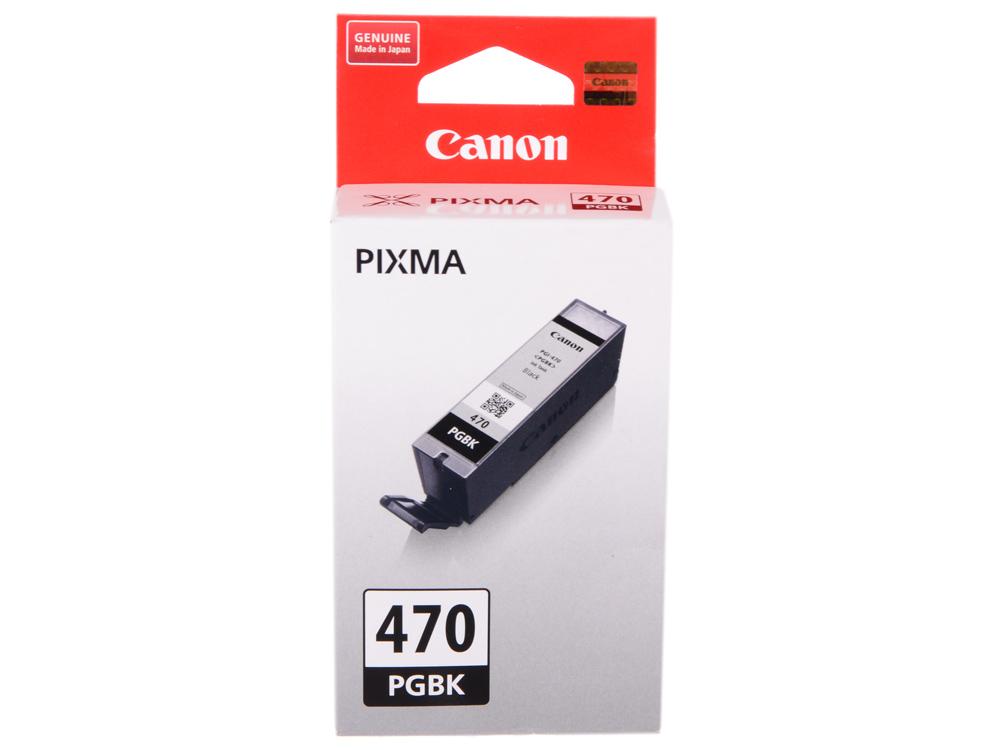 Картридж Canon PGI-470 PGBK для MG5740, MG6840, MG7740. Чёрный. 300 страниц. картридж canon pgi 470 pgbk для canon pixma mg5740 pixma mg6840 pixma mg7740 300 черный 0375c001