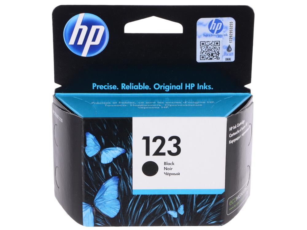 цена на Картридж HP F6V17AE BHK черный (black) 120 стр для HP DeskJet 2130