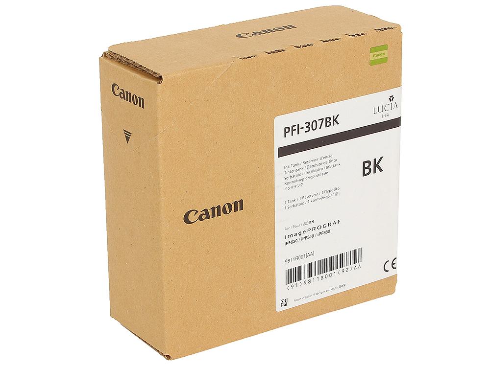 Картридж Canon PFI-307 BK Чёрный цена в Москве и Питере