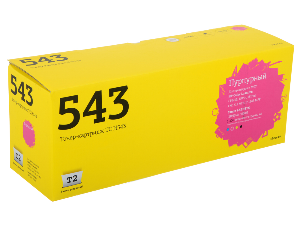 Картридж T2 TC-H543 (CB543A) Пурпурный цены