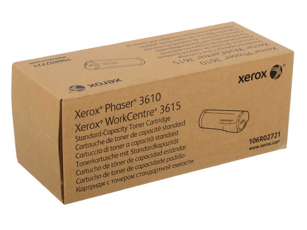 Картридж Xerox 106R02721 STANDARD CAPACITY TONER CARTRIDGE - Phaser 3610/WC 3615 one set toner chip for xerox phaser 6700 printer cartridge refill reset 106r01503 106r01506 free shipping