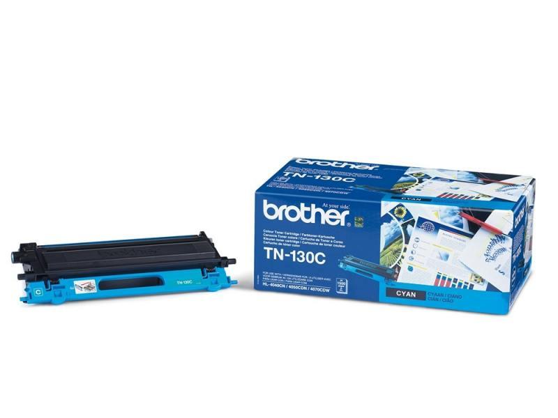 Тонер-картридж Brother TN130C голубой, для HL-4040CN/HL-4050CDN/DCP-9040CN/MFC-9440CN (1500 стр) картридж brother lc3619xly 1500 стр