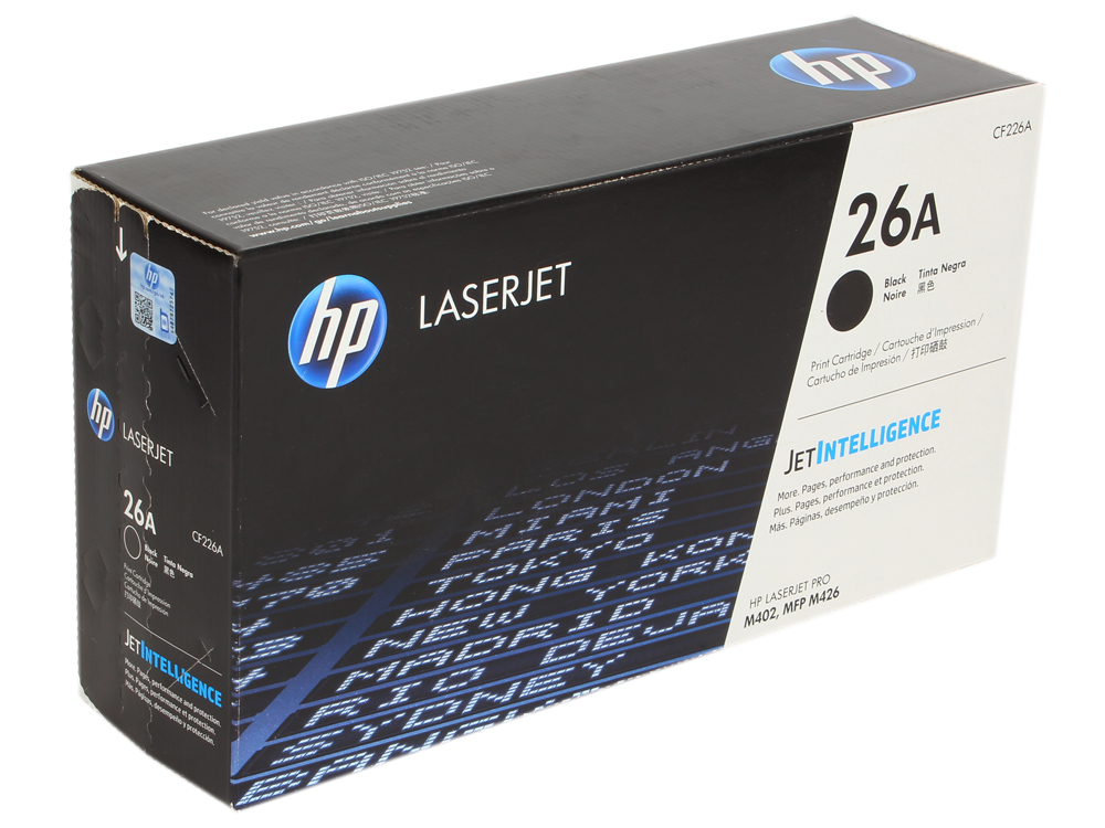 Картридж HP CF226A для HP LaserJet Pro M402/MFP M426 . Чёрный. 3100 страниц. new toner for hp laserjet pro m104a hp laserjet pro mfp m132 compatible for hp cf218a without chip