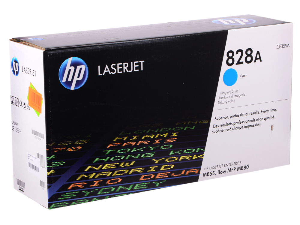 Барабан HP CF359A для HP Color LaserJet m855 m855dn a2w77a m855x+ a2w79a m855xh a2w78a. Голубой. 30000 страниц.