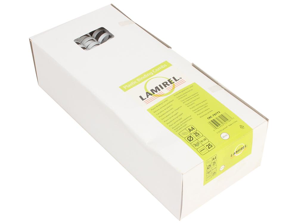 цена Пружина пластиковая Lamirel, 25 мм. Цвет: белый, 25 шт., шт онлайн в 2017 году