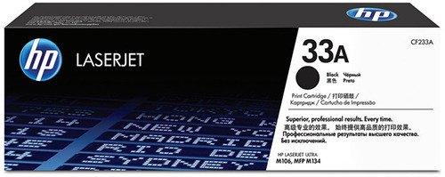 Картридж HP CF233A (HP 33A) для HP LaserJet Pro MFP Ultra M106/M134. Чёрный. 2300 страниц. тонер картридж hp 33a laserjet cf233a