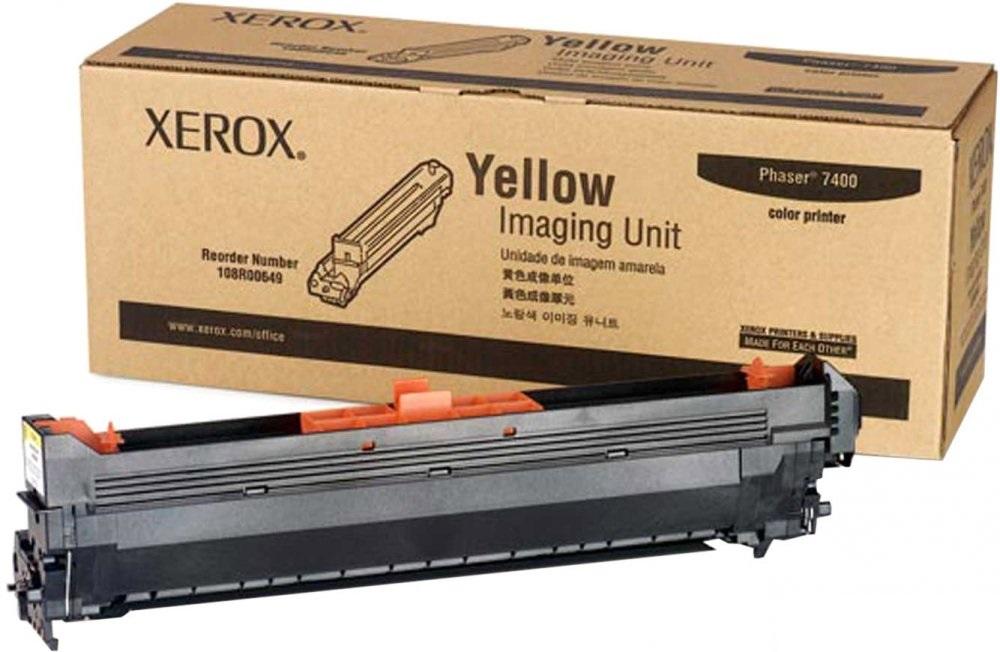 Фотобарабан Xerox 108R00649 желтый (yellow) 30000стр для Xerox Phaser 7400 фотобарабан xerox 113r00670 для phaser 5500 60000стр