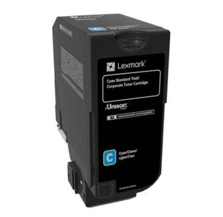 Картридж Lexmark 74C5SCE для CX725de CX725dhe CS725de CS720de голубой 7000стр цена 2017