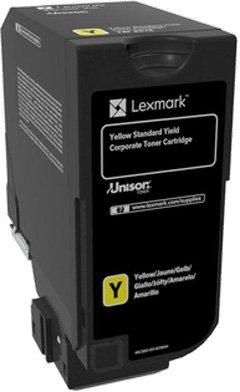 цена на Картридж Lexmark 74C5SYE для CX725de CX725dhe CS725de CS720de желтый 7000стр