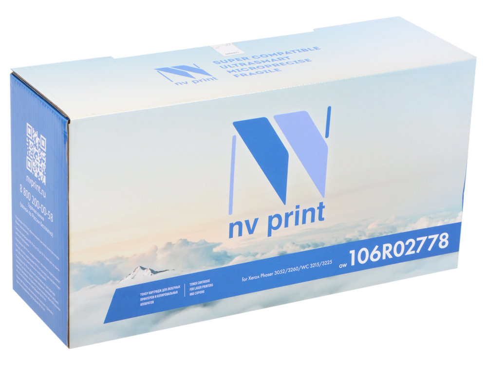 Картридж NV-Print совместимый Xerox 106R02778 для Phaser 3052/3260/WorkCentre 3215/3225 (3000k) цена
