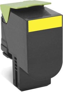 Тонер-Картридж Lexmark 80C8HYE для CX310/410/510 жёлтый 3000стр цена