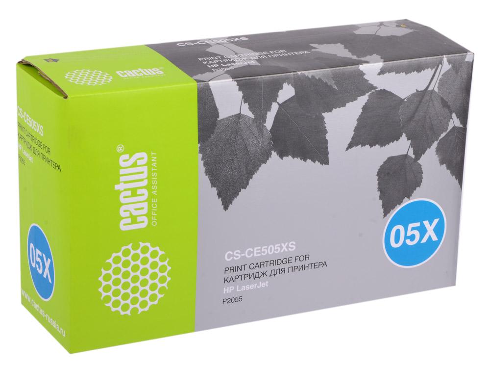 Картридж Cactus CS-CE505X (CS-CE505XS) для HP LJ2055 черный 6500стр цены