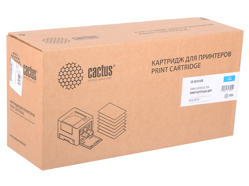 Тонер Картридж Cactus CS-CE341AR голубой для HP CLJ M775 (16000стр.) okeen car styling for honda crv 2009 2008 2007 tail trunk led rear bumper reflector light red lens lamp fog brake lights