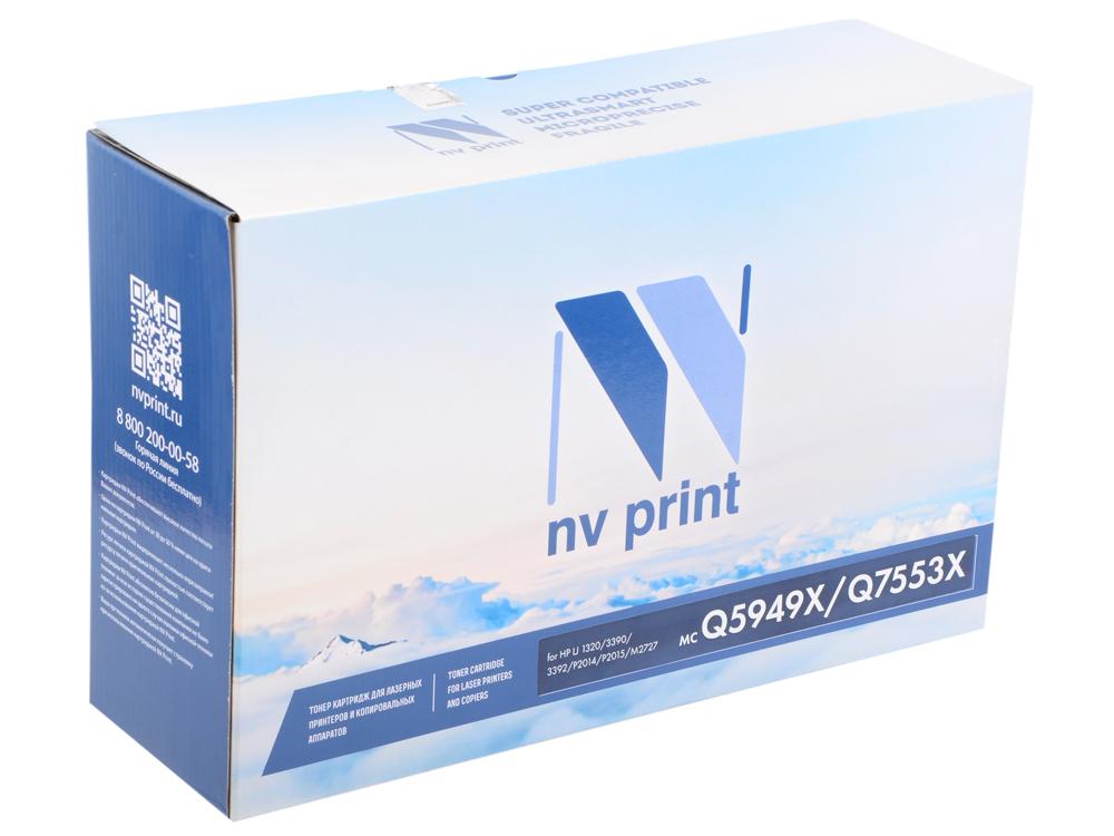 Картридж NV-Print Q7553X/Q5949X для Laser Jet P2014/ P2015/ M2727 mfp 7000стр galaprint gp q7553x 715 для принтеров hp lj p2010 p2014 p2015 2015d 2015n m2727 m2727nf m2727nfs canon lbp 3310 3370 7000стр