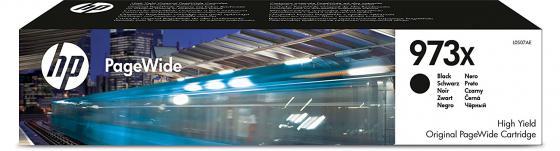 Картридж HP 973X для PageWide Pro 452/477 черный L0S07AE картридж hp 913a для pagewide pro 352 377 452 477 p57750 p55250 желтый f6t79ae