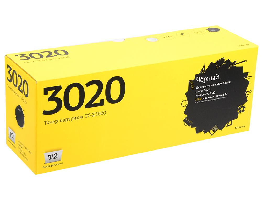 Картридж T2 TC-X3020 106R02773 для Xerox Phaser 3020/WorkCentre 3025 черный 1500стр картридж easyprint lx 3020 для xerox phaser 3020 workcentre 3025 чёрный 1500 страниц с чипом 106r02773