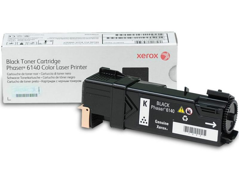 Картридж Original Xerox [106R01484] для Xerox Phaser 6140, Black 2600стр. картридж cactus cs ph6121m для xerox phaser 612 пурпурный 2600стр