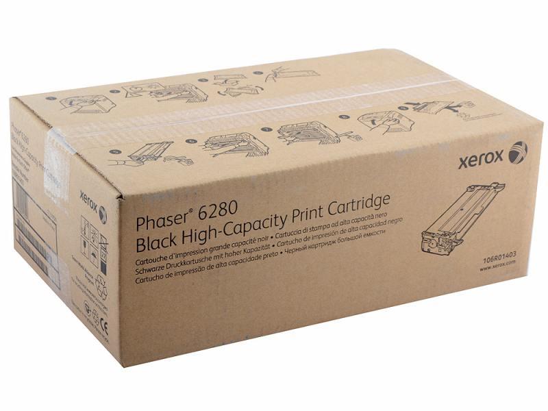 Картридж Xerox 106R01403 черный (black) 5900 стр для Xerox Phaser 6280