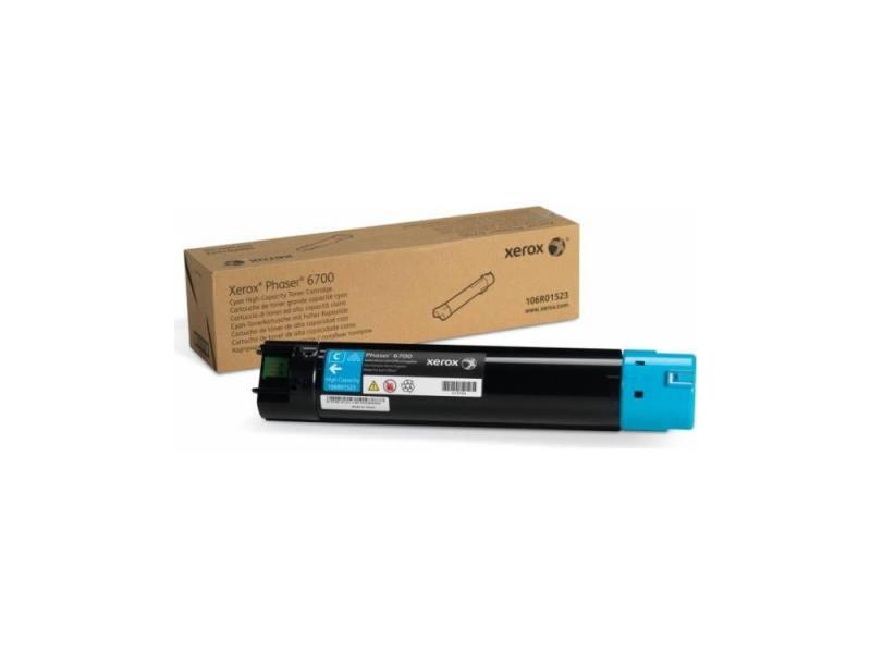 Картридж Xerox 106R01523 голубой (cyan) 12000 стр для Xerox Phaser 6700