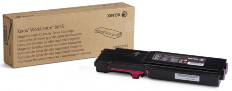 Картридж Xerox 106R02753 пурпурный (magenta) 7500 стр для Xerox WorkCentre 6655 все цены