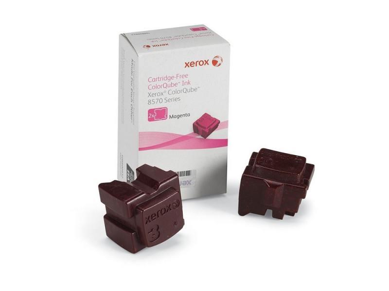 Набор твердочернильных брикетов Xerox 108R00937 для ColorQube 8570 2шт пурпурный 4400стр набор брикетов для копчения торфтехнолин ольха 15 шт