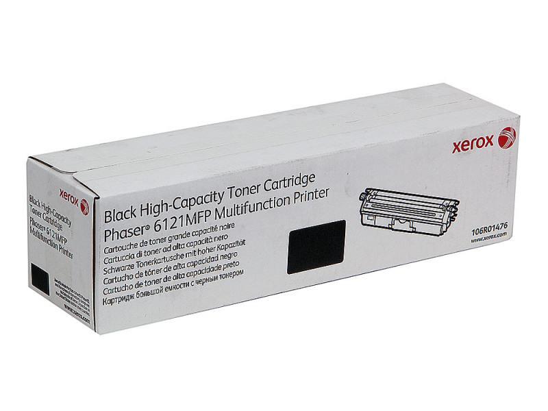Картридж Xerox 106R01476 черный (black) 2500 стр для Xerox Phaser 6121
