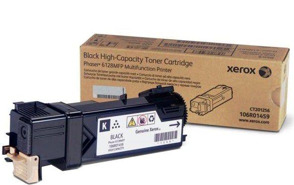 Тонер-Картридж Xerox 106R01459 для Phaser 6128 MFP черный 3100стр тонер картридж xerox 106r02236