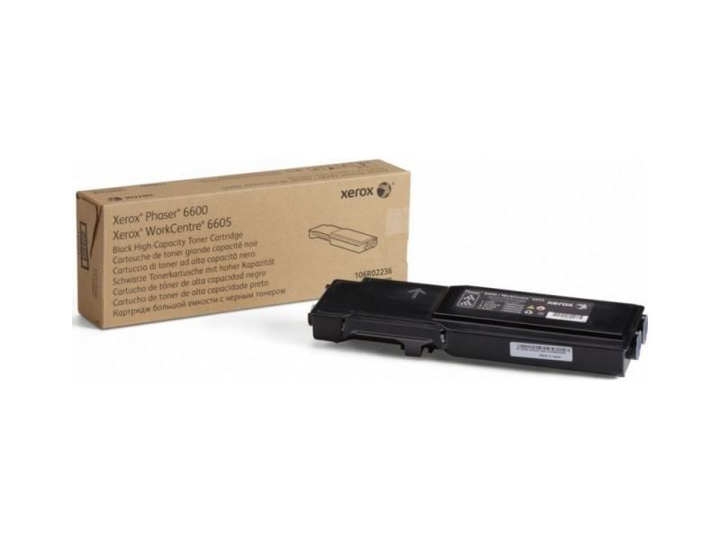 Картридж Xerox 106R02236 черный (black) 8000 стр для Xerox Phaser 6600