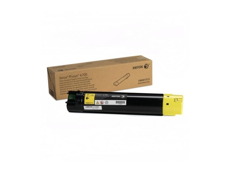 Картридж Xerox 106R01513 желтый (yellow) 5000 стр для Xerox Phaser 6700 копи картридж xerox желтый 50k phaser 6700