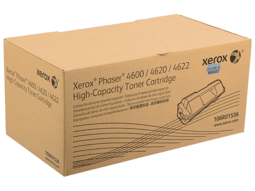 Тонер-Картридж Xerox 106R01536 для Phaser 4600/4620 черный 30000стр