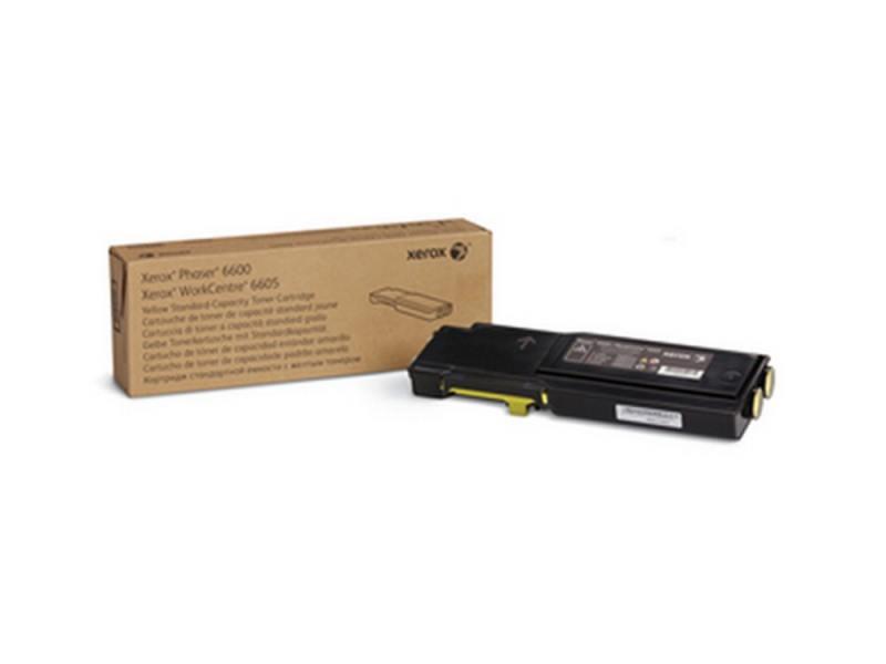 Картридж Xerox 106R02251 желтый (yellow) 2000 стр для Xerox Phaser 6600/6605 копи картридж xerox желтый 50k phaser 6700