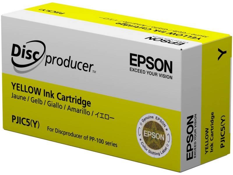 Картридж Epson C13S020451 для Epson PP-100/100AP/100II/100N/100N Security/50 желтый цена 2017