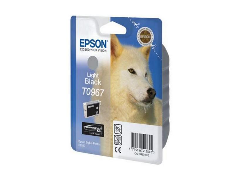 Картридж Epson C13T09674010 для Epson Stylus Photo R2880 светло-черный