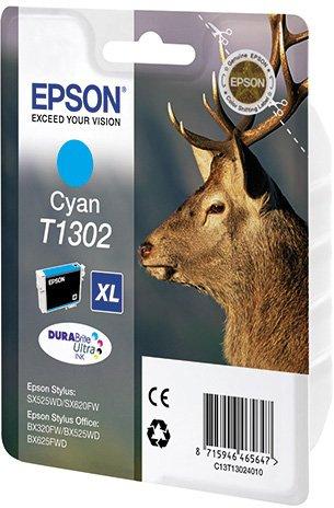 Картридж Epson C13T13024010 для B42WD голубой 775стр картридж epson для xp600 7 8 c13t26324012 голубой