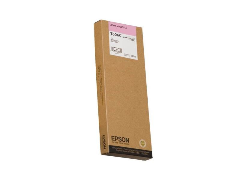 Картридж Epson C13T606C00 для Epson Stylus Pro 4880 светло-пурпурный