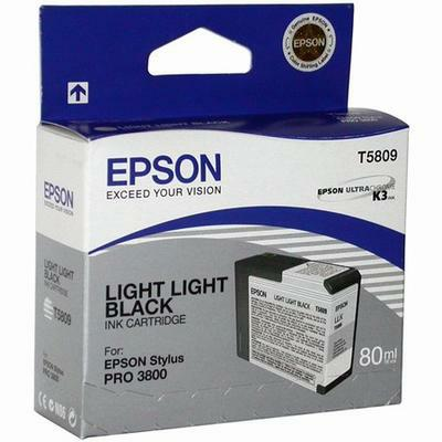 Картридж Epson C13T580900 для Epson Stylus Pro 3800 светло светло-черный