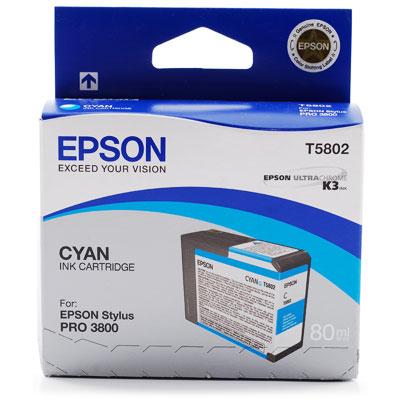 Картридж Epson C13T580200 для Epson Stylus Pro 3800 Cyan