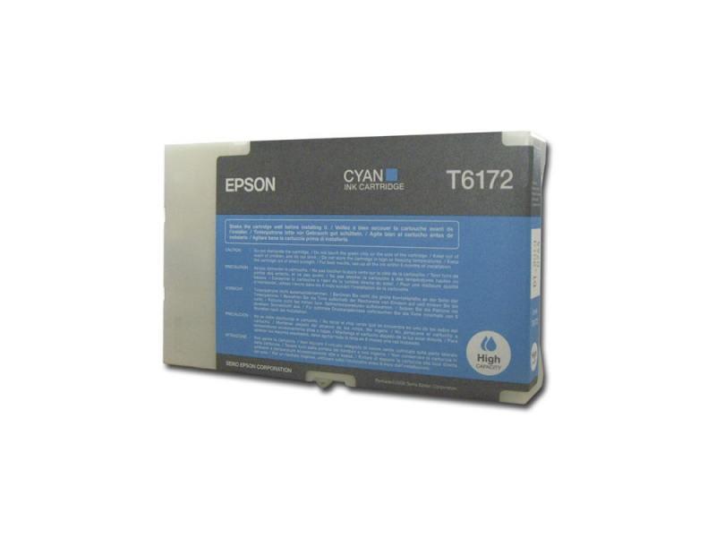 Картридж Epson C13T617200 для Epson B300/B500DN/B510DN голубой