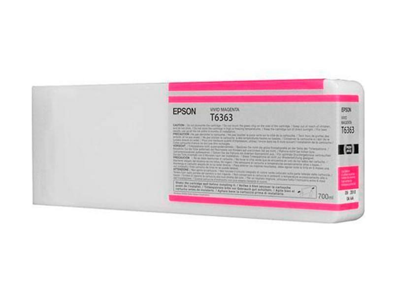 Картридж Epson C13T636300 для Epson Stylus Pro 7900/9900 пурпурный картридж epson c13t591600 для epson stylus pro 11880 пурпурный