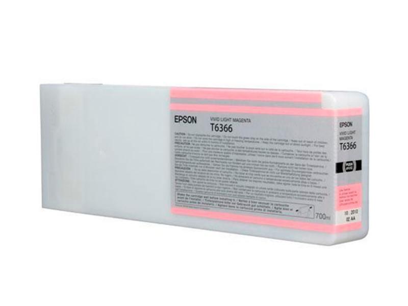 купить Картридж Epson C13T636600 для Epson Stylus Pro 7900/9900 светло-пурпурный по цене 21461 рублей