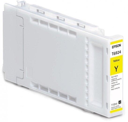 цены Картридж Epson C13T692400 для Epson SC-T3000/T5000/T7000 желтый 110мл