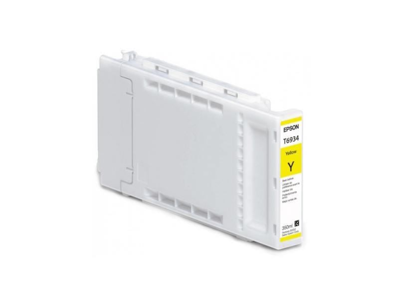 Картридж Epson C13T693400 для SC-T3000/T5000/T7000 UltraChrome XD желтый 350мл картридж epson c13t694300 для sc t3000 t5000 t7000 ultrachrome xd пурпурный 700мл