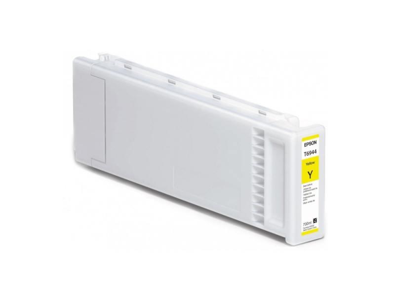 Картридж Epson C13T694400 T694400 для Epson SC-T3000/T5000/T7000 UltraChrome XD желтый картридж epson c13t694300 для sc t3000 t5000 t7000 ultrachrome xd пурпурный 700мл