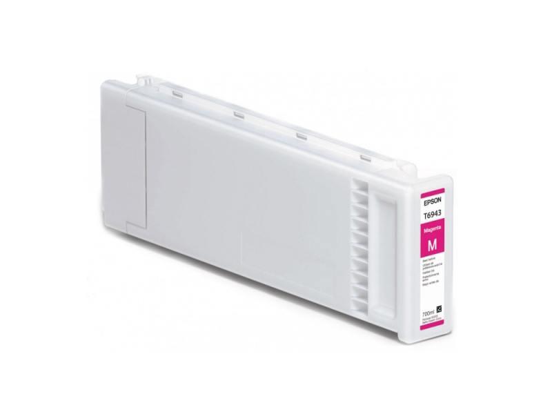 Картридж Epson C13T694300 для SC-T3000/T5000/T7000 UltraChrome XD пурпурный 700мл картридж epson c13t694300 для sc t3000 t5000 t7000 ultrachrome xd пурпурный 700мл
